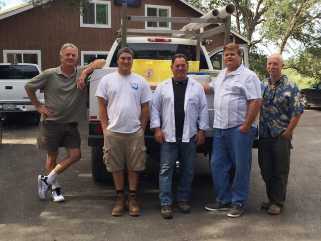 Sacramento pool builder crew